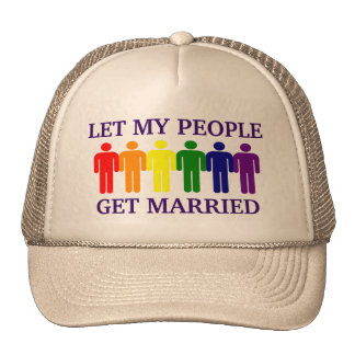 Gay Marriage Support Gay Marriage Hats