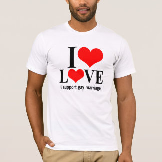 Gay Marriage Support T-Shirt