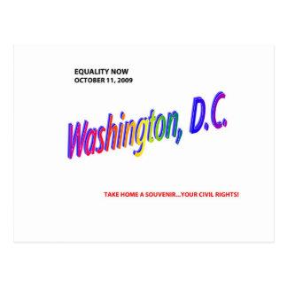 gay marrriage/equality postcard