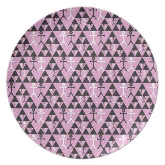 Gay Men Icon Art pattern Plate