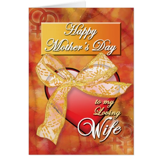Gay Mothers Day Cards - Ribbon Heart