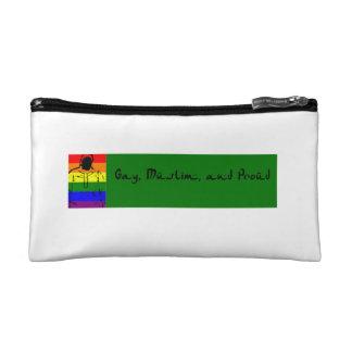 Gay, Muslim and Proud Cosmetic Bag