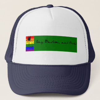 Gay, Muslim and Proud Trucker Hat