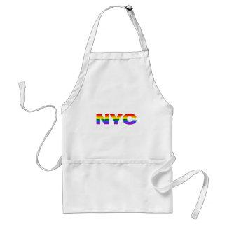 Gay NYC apron