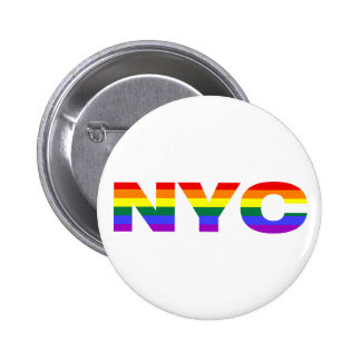 Gay NYC button