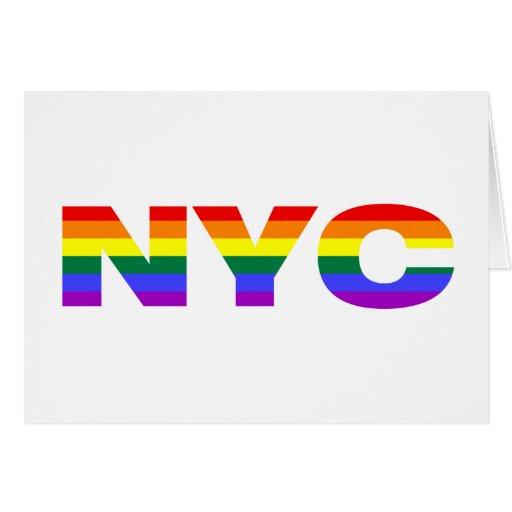 Gay NYC greeting card