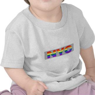 Gay NYC 'grey' infant shirt