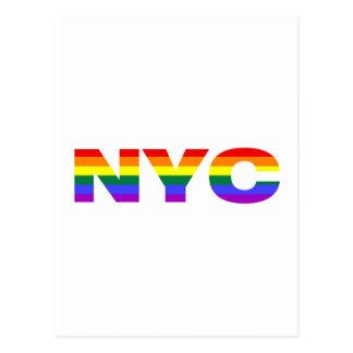 Gay NYC postcard