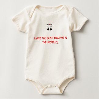 Gay parents Best daddys. Baby Bodysuit