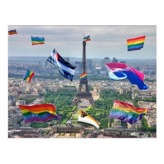 Gay Paris Postcard