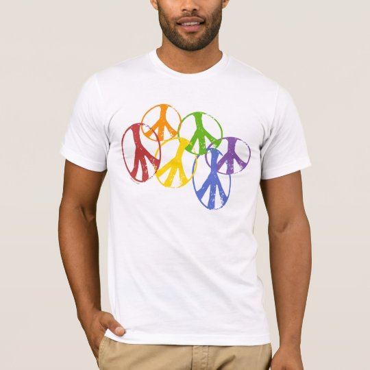 Gay Peace Symbols T-Shirt