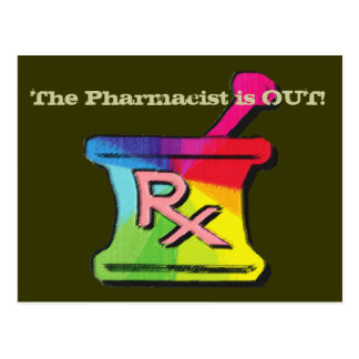 Gay Pharmacist T-shirts Gifts Post Cards