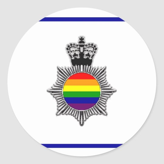 Gay Police Assn, UK Classic Round Sticker