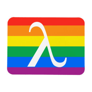 Gay Pride and Activism Flag Rectangular Photo Magnet