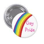 Gay Pride Badge Pin