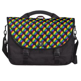Gay Pride Bag Rainbow Love Laptop Commuter Bag