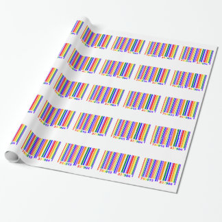Gay Pride Barcode Wrapping Paper