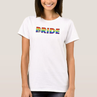 Gay Pride Bride T-Shirt