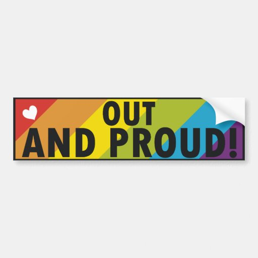 from Mayson gay pride magnetic bumper stickers
