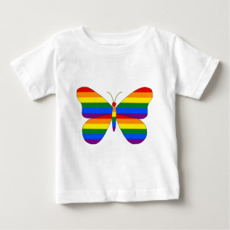 Gay Pride Butterfly Baby T-Shirt