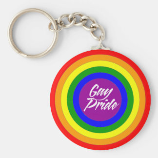 Gay Pride Button,Magnet,Keychain,Stickers Basic Round Button Key Ring