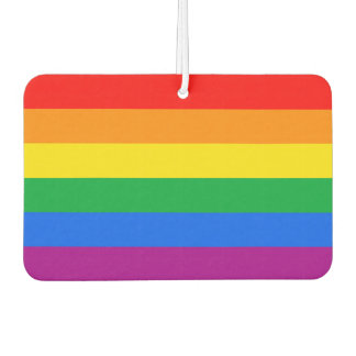Gay Pride Car Air Freshener