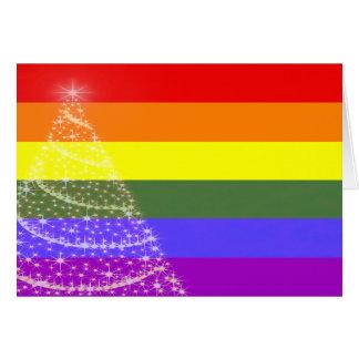 Gay Pride Christmas Card