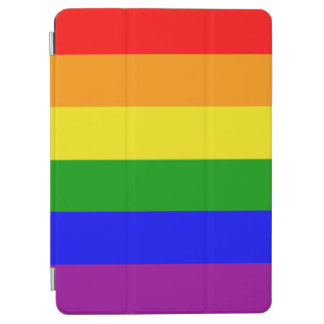 Gay Pride Classic and Elegant Rainbow flag iPad Air Cover