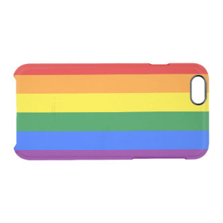 Gay Pride Clear iPhone Case iPhone 6 Plus Case