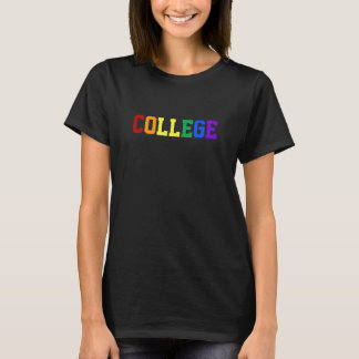 "Gay Pride ""COLLEGE"" Tee Shirt"
