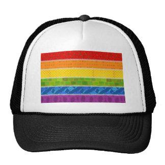 Gay Pride Colors Cap