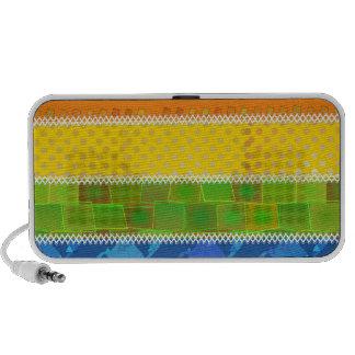 Gay Pride Colors Portable Speakers