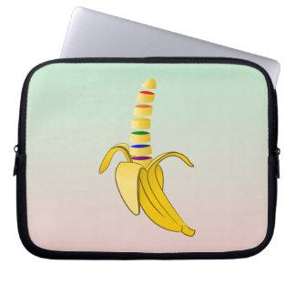 Gay Pride Coming Out Banana Laptop Computer Sleeves