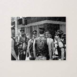Gay Pride Day NYC 1989 Jigsaw Puzzle
