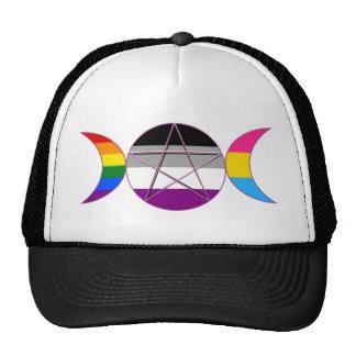 Gay Pride Demisexual Pansexual Goddess Pentacle Cap