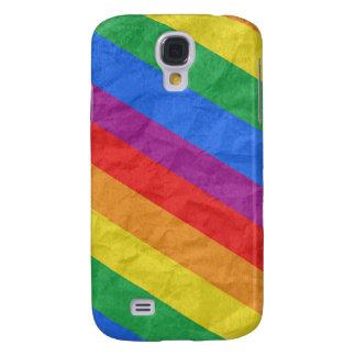 GAY PRIDE DIAGONAL PATTERN GALAXY S4 CASE