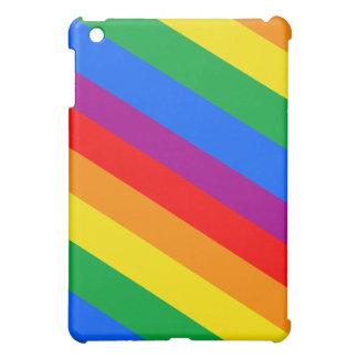 GAY PRIDE DIAGONAL PATTERN iPad MINI COVERS
