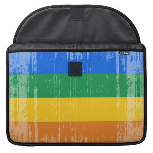 GAY PRIDE DISTRESSED DESIGN SLEEVE FOR MacBooks