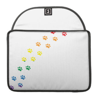 Gay Pride Doxie Flag Sleeves For MacBooks