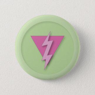 Gay Pride Electric 6 Cm Round Badge