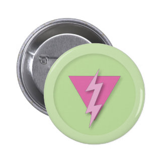 Gay Pride Electric 6 Cm Round Badge