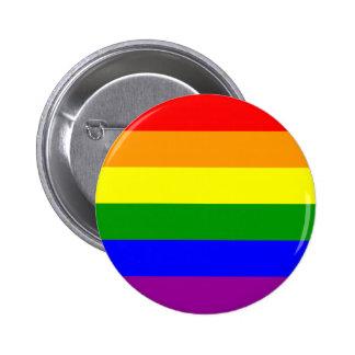 Gay Pride Flag 6 Cm Round Badge