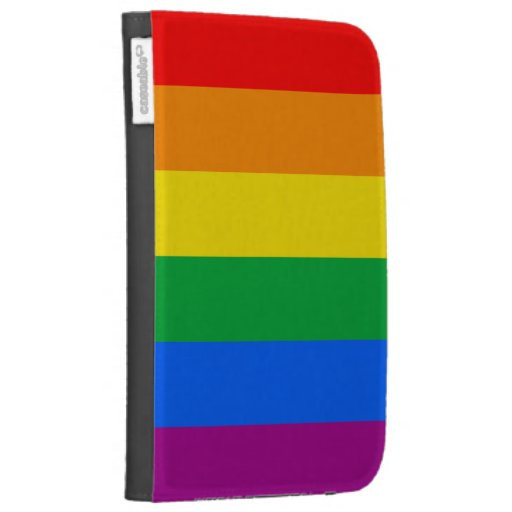 GAY PRIDE FLAG CASES FOR KINDLE