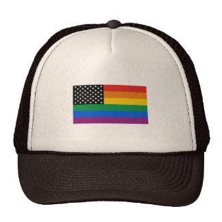 Gay Pride Flag Trucker Hat