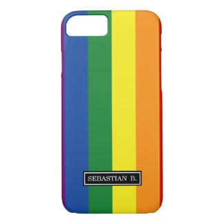 Gay pride Flag iPhone 7 Case