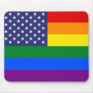 """""""GAY PRIDE FLAG"""" MOUSE PAD"""