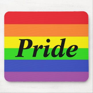 Gay Pride Flag Mousepad