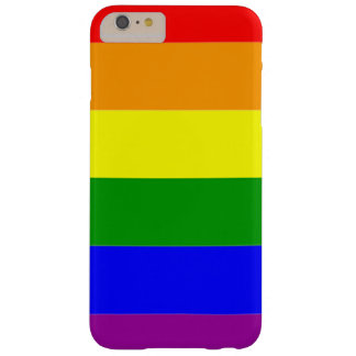 Gay Pride Flag Rainbow Flag Barely There iPhone 6 Plus Case