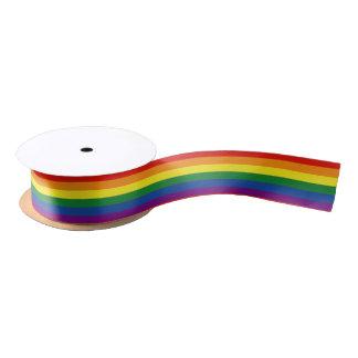 Gay pride Flag Satin Ribbon