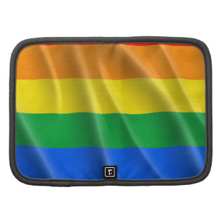 GAY PRIDE FLAG WAVY DESIGN PLANNERS